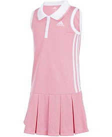 adidas Baby Girls Sleeveless Polo Dress