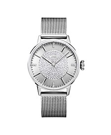 Women's Belle Diamond (1/8 ct.t.w.) Stainless Steel Watch