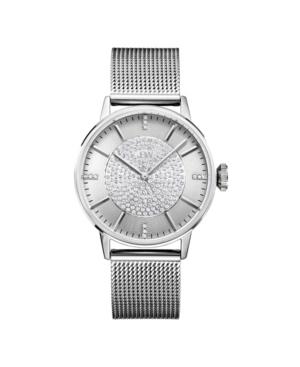 Women's Belle Diamond (1/8 ct.t.w.) Stainless Steel Watch