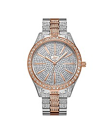 Women's Cristal Diamond (1/8 ct.t.w.) Stainless Steel Watch