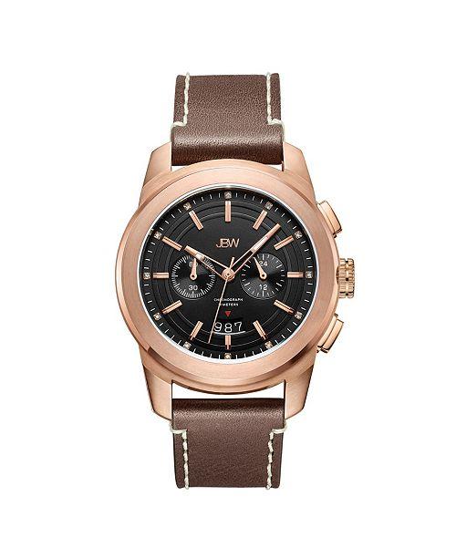 Jbw Men's Mohawk Diamond (1/8 ct.t.w.) Chronograph Watch