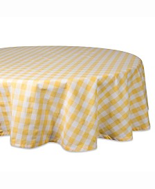 "Checkers Table cloth 70"" Round"
