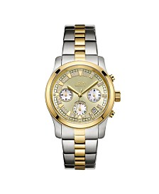 JBW Women's Alessandra Diamond (1/5 ct.t.w.) Stainless Steel Watch
