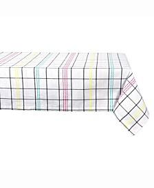 """Color Pop Plaid Table cloth 52"""" X 52"""""""