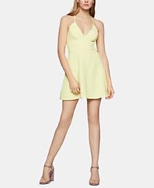 BCBGeneration V-Neck Fit & Flare Dress