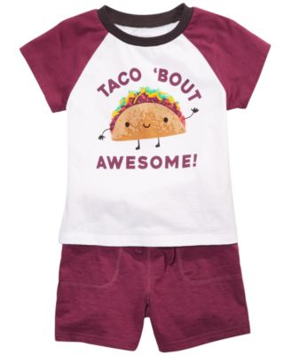 Toddler Boys Cotton Taco T-Shirt, Created for Macy's