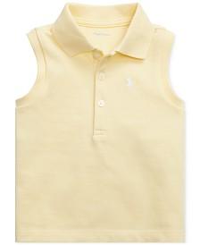 Polo Ralph Lauren Baby Girls Sleeveless Cotton Polo Shirt
