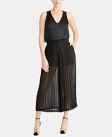 RACHEL Rachel Roy Ada Pleated Palazzo Pants