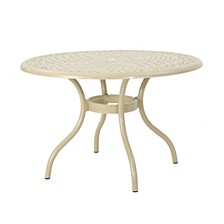 Phoenix Outdoor Dining Table, Quick Ship