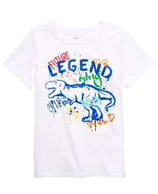 Epic Threads Little Boys Graffiti Dino T-Shirt, Created for Macy's
