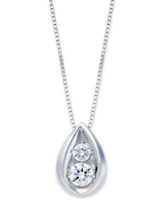 november baubles pendant shop teardrop necklace frock