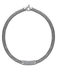 Diamond Dew Drop Bar Necklace in Sterling Silver (3/4 ct. t.w.)