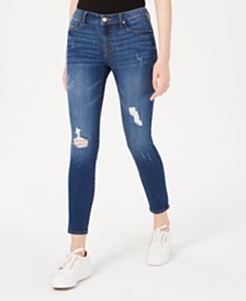 Rewash Juniors' Ripped Skinny Jeans