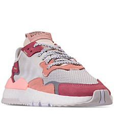 adidas Women's Originals Nite Jogger Running Sneakers from Finish Line