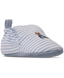 Polo Ralph Lauren Baby Boys' Percie Layette Oxford Slip-On Booties from Finish Line