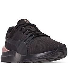 Puma Women's Adela Mesh Casual Sneakers from Finish Line