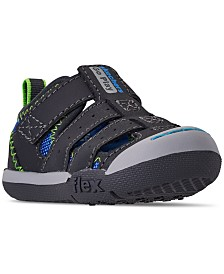Skechers Toddler Boys' Flex Play - Solar Steps Athletic Sandals from Finish Line