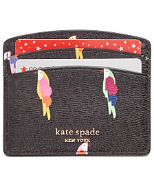 kate spade new york Sylvia Flock Party Card Holder
