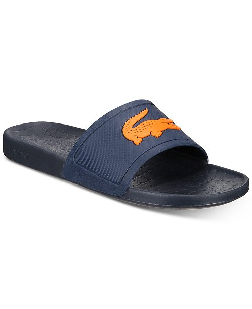 Lacoste Men's Fraisier Slide Sandals