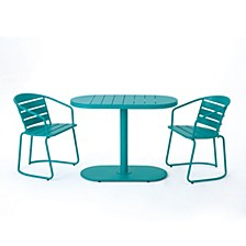 Santa Monica Outdoor 3pc Dining Set