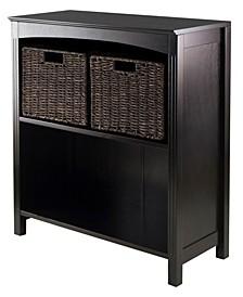 3Pc Storage 3-Tier Shelf with 2 Small Baskets