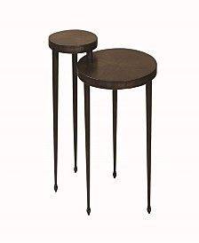 Janesville Round Nesting Table with Narrow Legs