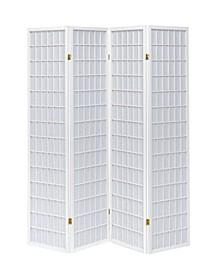 Plainview 4-Panel Folding Screen