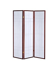 Rye 3-Panel Folding Floor Screen