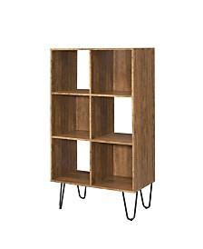 Webster 6-Shelf Bookcase