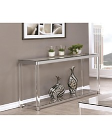 Riverside Rectangular Sofa Table with Shelf