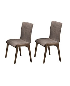 Beltran Retro Dining Side Chairs (Set of 2)