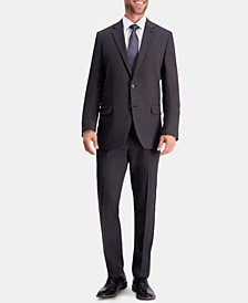 Men's Active Series Herringbone Slim-Fit Suit Separate Jacket