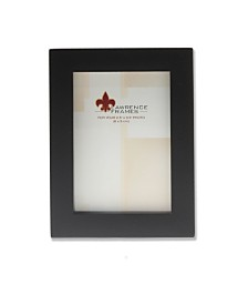 """Lawrence Frames Black Wood Picture Frame - Gallery Collection - 2"""" x 3"""""""
