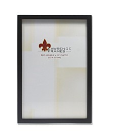 """Black Wood Picture Frame - Gallery Collection - 8"""" x 12"""""""