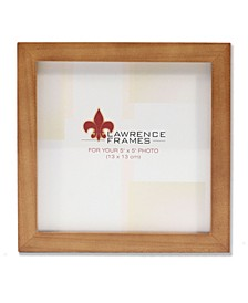 """766055 Nutmeg Wood Picture Frame - 5"""" x 5"""""""