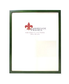 "Lawrence Frames Green Wood Picture Frame - Gallery Collection - 11"" x 14"""