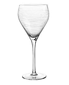 Qualia Glass Graffiti Goblet, Set Of 4