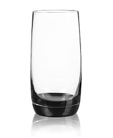 Qualia Glass Ebony Highball Glasses, Set Of 4