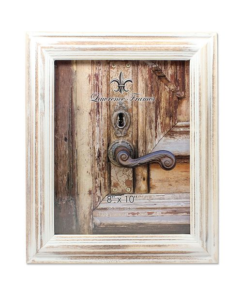 """Lawrence Frames White Wash Maple Picture Frame - 8"""" x 10"""""""