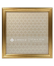 "Sutter Burnished Gold Picture Frame - 10"" x 10"""
