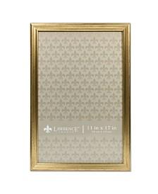 """Lawrence Frames Sutter Burnished Gold Picture Frame - 11"""" x 17"""""""