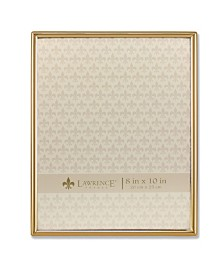 """Lawrence Frames Simply Gold Metal Picture Frame - 8"""" x 10"""""""