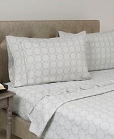 Home Dynamix Andover Hills 4-Piece Soft Microfiber Full Sheet Set