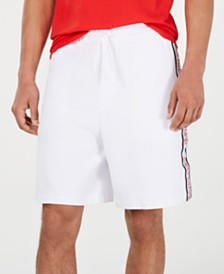 A|X Armani Exchange Men's Logo Side-Tape Shorts