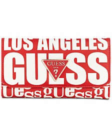 GUESS Analise Logo Clutch Wallet