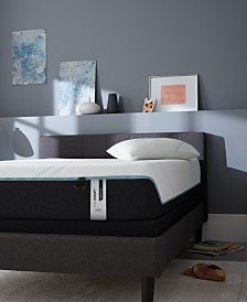 "TEMPUR-ProAdapt 12"" Medium Hybrid Mattress Set- Full"