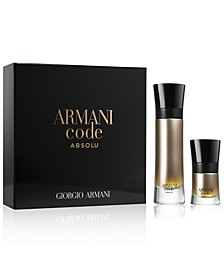 Men's Armani Code Absolu Eau de Parfum 2-Pc. Gift Set