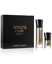 Giorgio Armani Men's Armani Code Absolu Eau de Parfum 2-Pc. Gift Set
