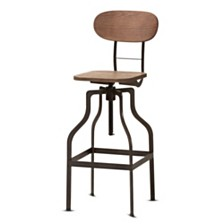 Varek Bar Stool, Quick Ship