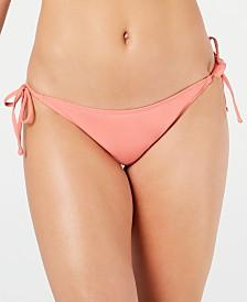 Roxy Juniors' Classics Side-Tie Bikini Bottoms